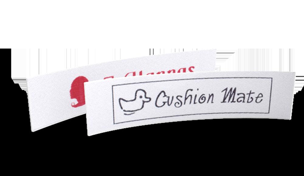 Classic Printed Satin Labels - design online