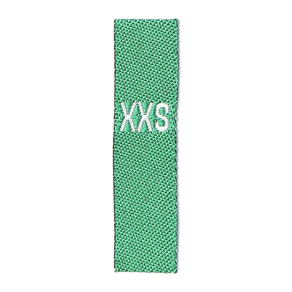 Adult Sizes - Green with white Text: XXS – XXL