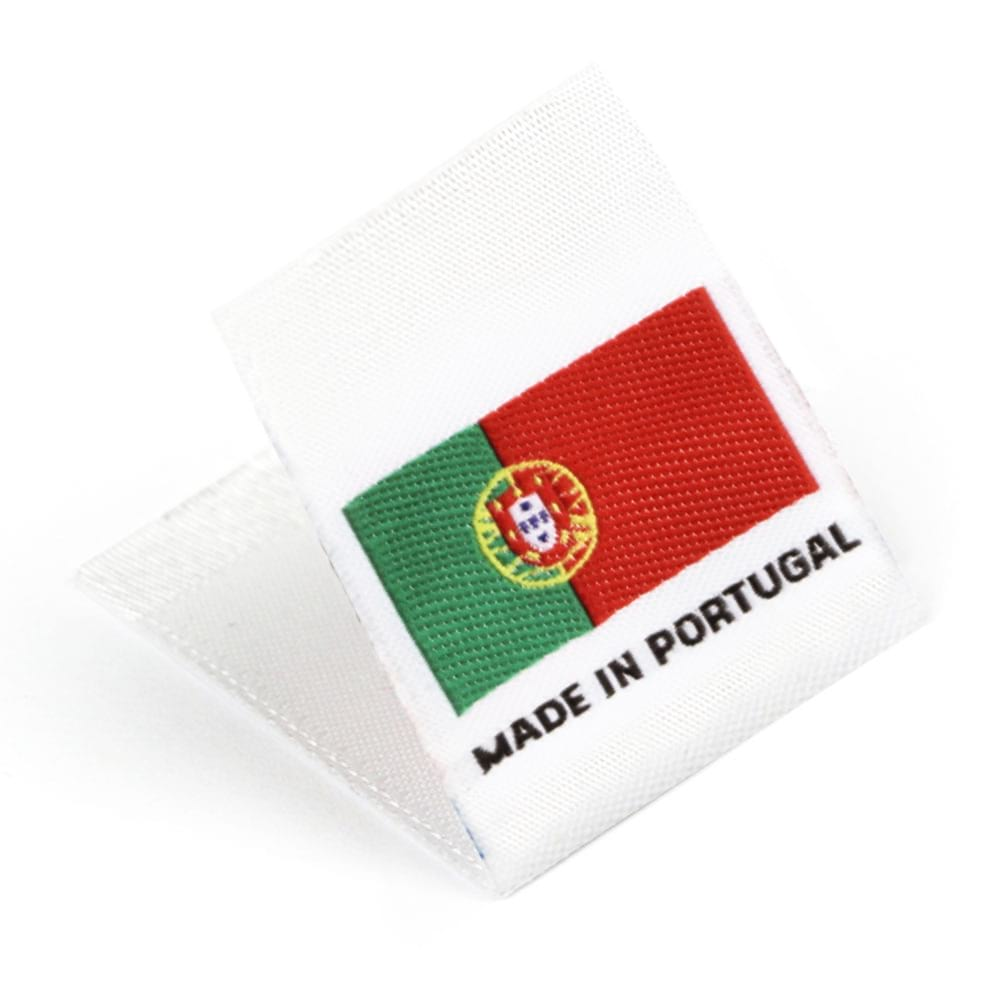 Woven 'Made in Portugal' Flag Labels